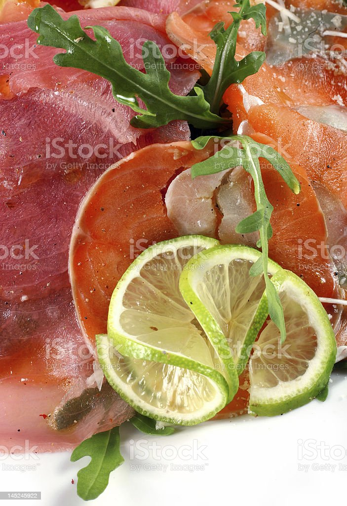 Seafood mix royalty-free stock photo
