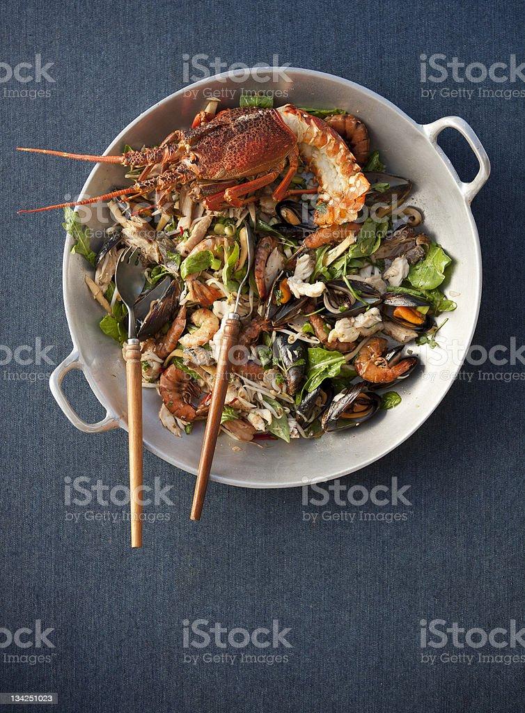 Seafood Platter stock photo