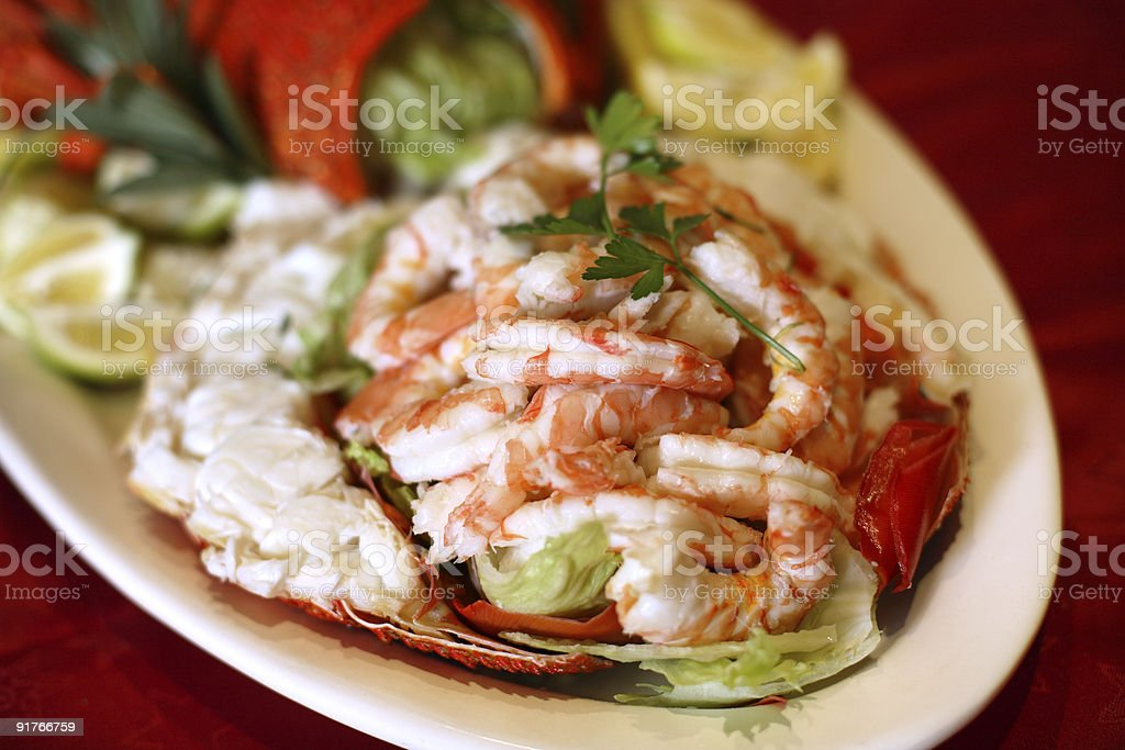 Seafood Platter royalty-free stock photo