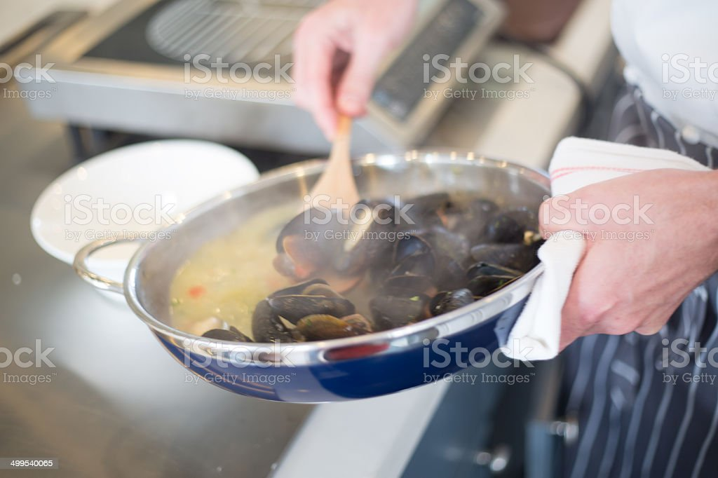 Seafoods stock photo