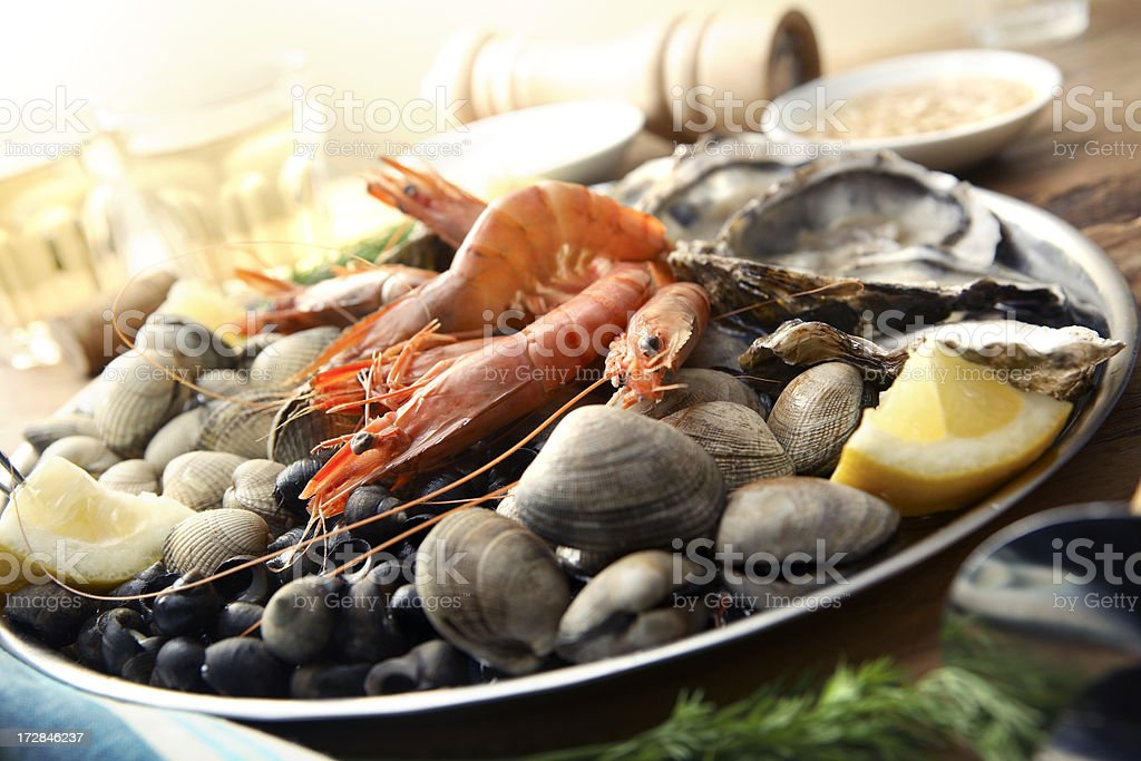 SeafoodStills: Fruits de Mer stock photo