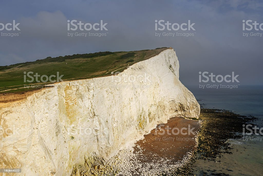 seaford head stock photo
