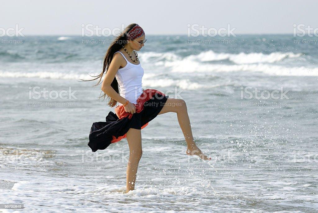 seagirl royalty-free stock photo