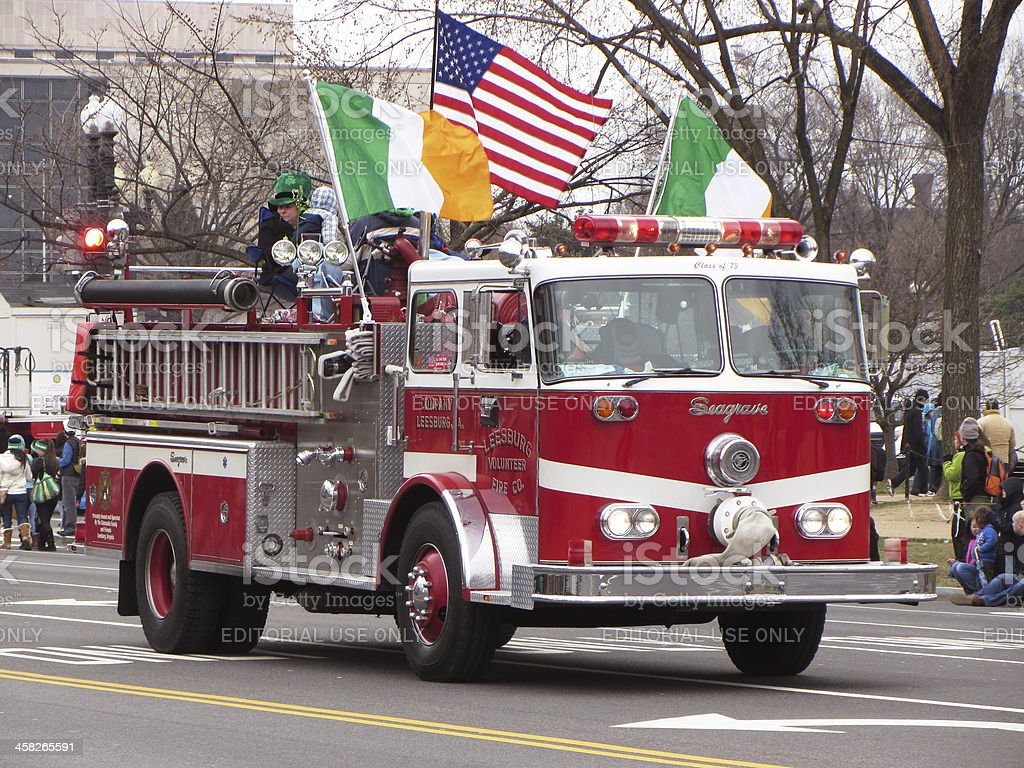Seagrave Fire Truck royalty-free stock photo