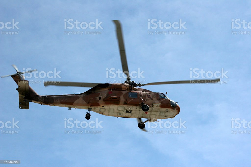 Seahawk Helicopter 05 stock photo
