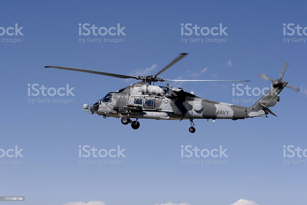 Seahawk Helicopter 08 royalty-free stock photo