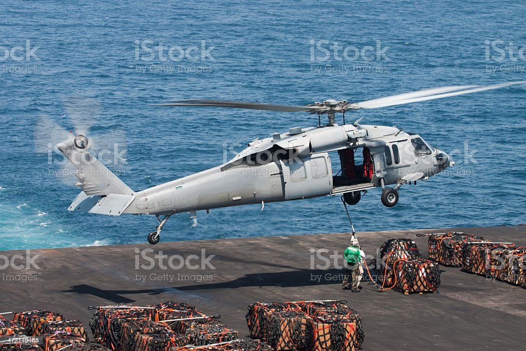 MH-60 Seahawk stock photo