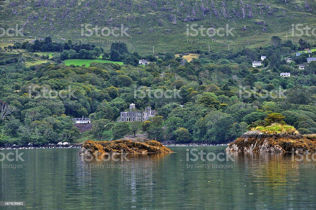 Seal Island near Garinish Island / County Cork, Ireland stock photo