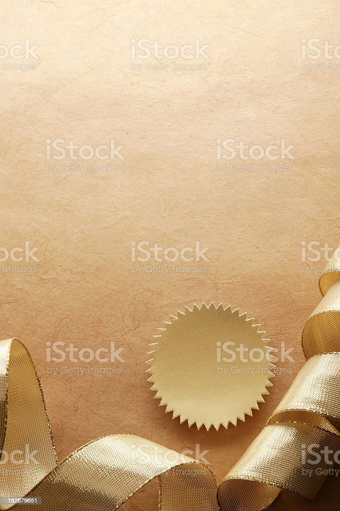 Seal of Approval royalty-free stock photo