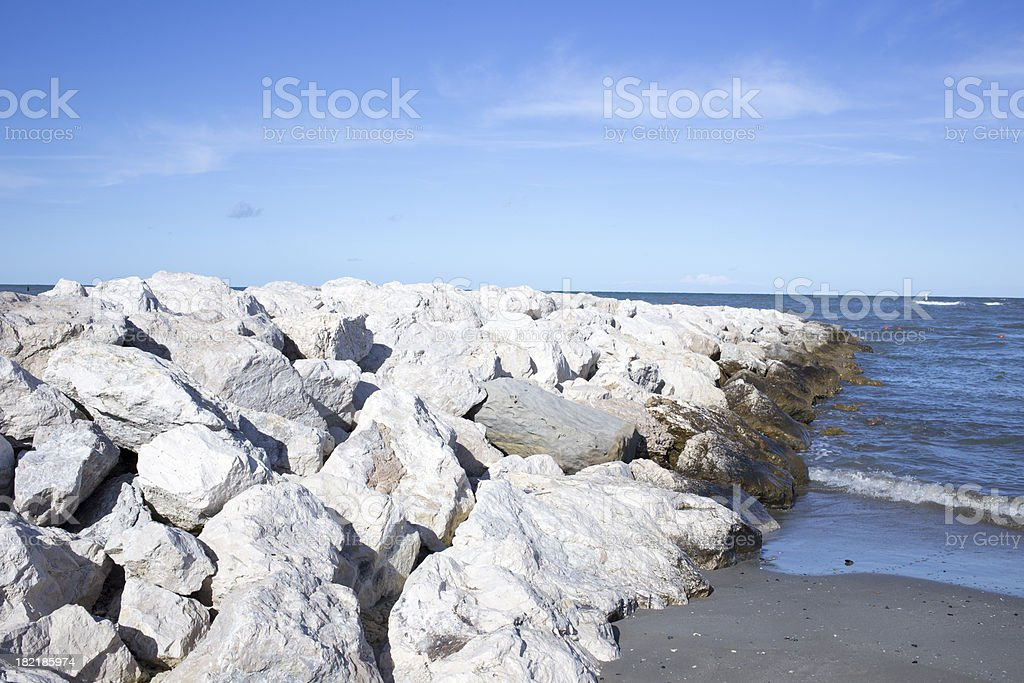 Seal Rock royalty-free stock photo