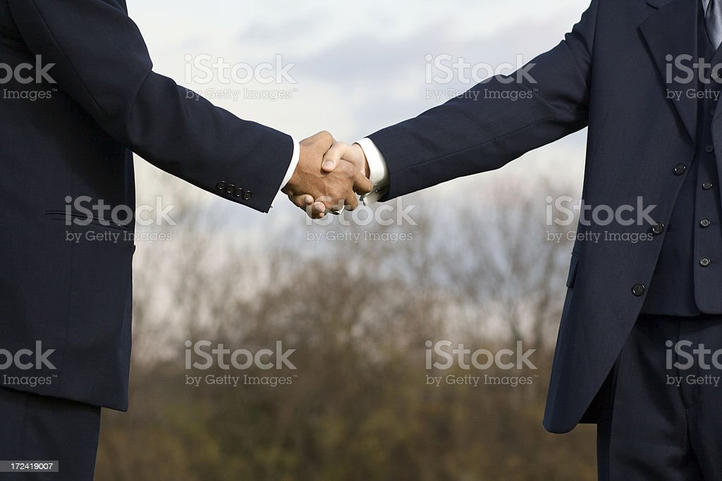 Seal the Deal royalty-free stock photo