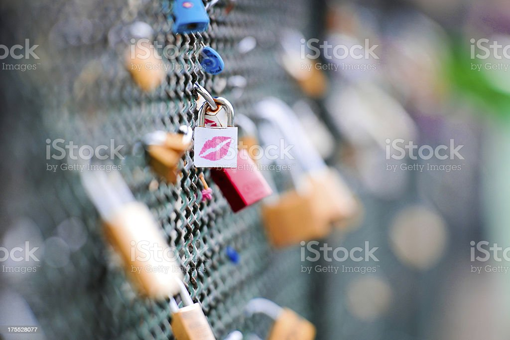 Sealed With A Kiss - XLarge royalty-free stock photo