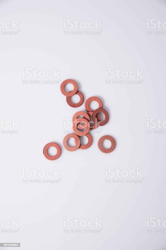 Sealing ring stock photo