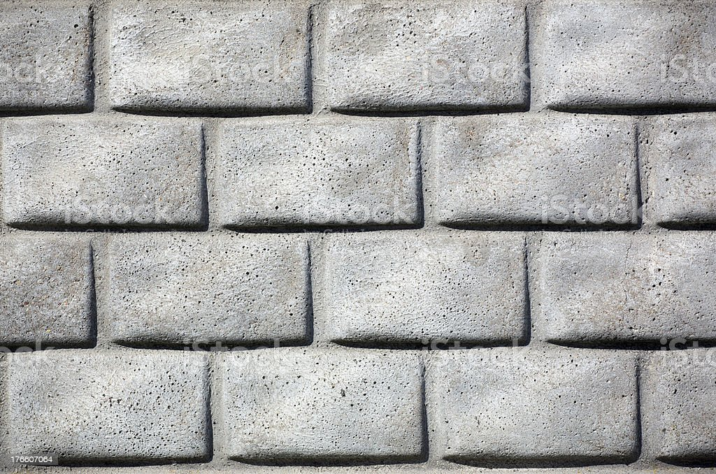 Seamless a concrete wall royalty-free stock photo