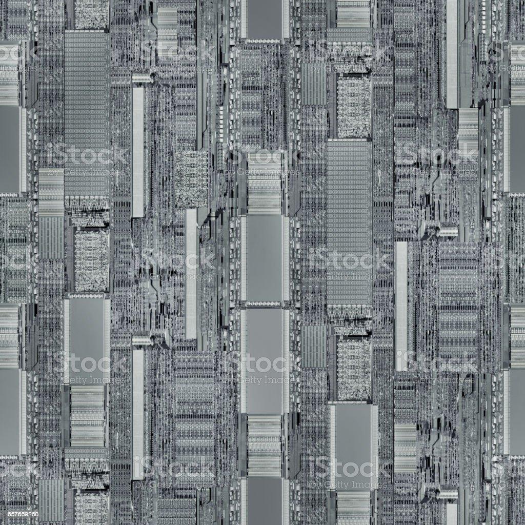 CPU Seamless Background stock photo