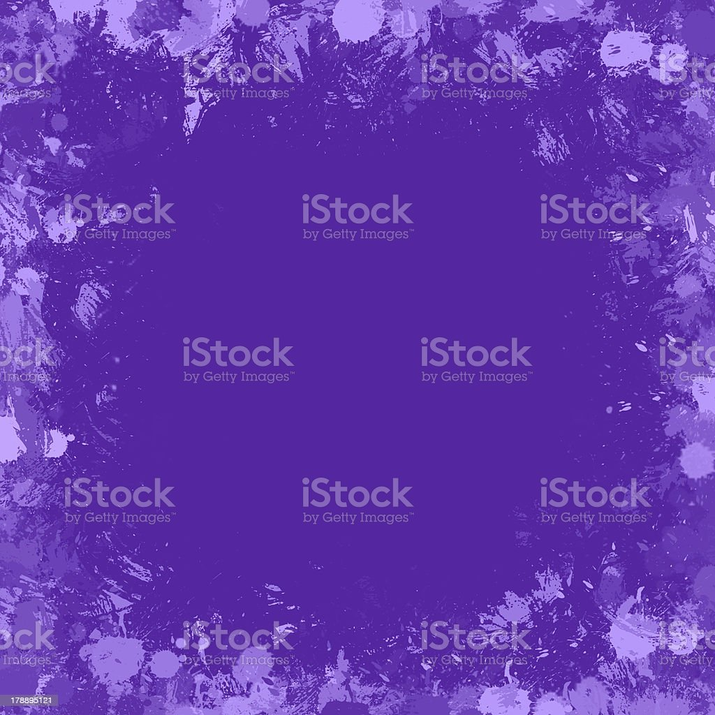 Seamless background with color ink spots, frame for text royalty-free stock vector art