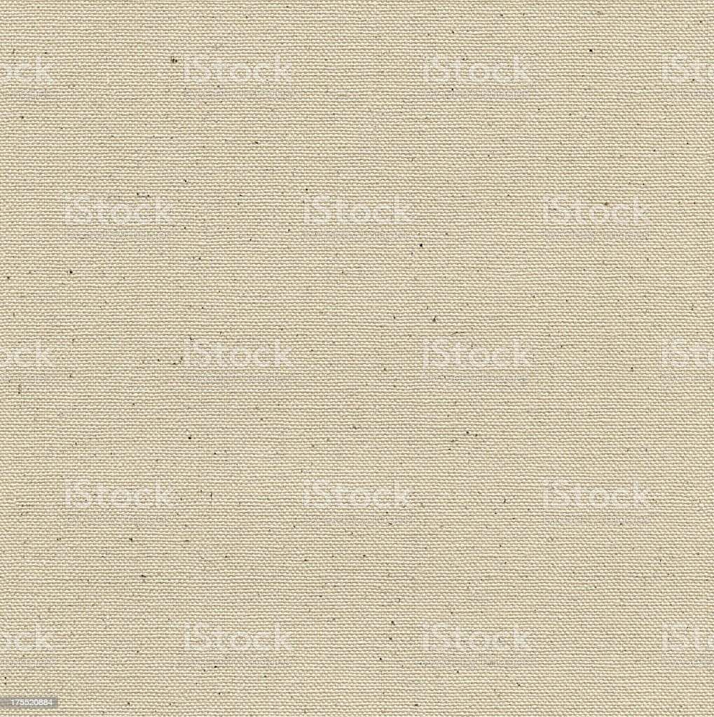 Seamless beige linen canvas background stock photo