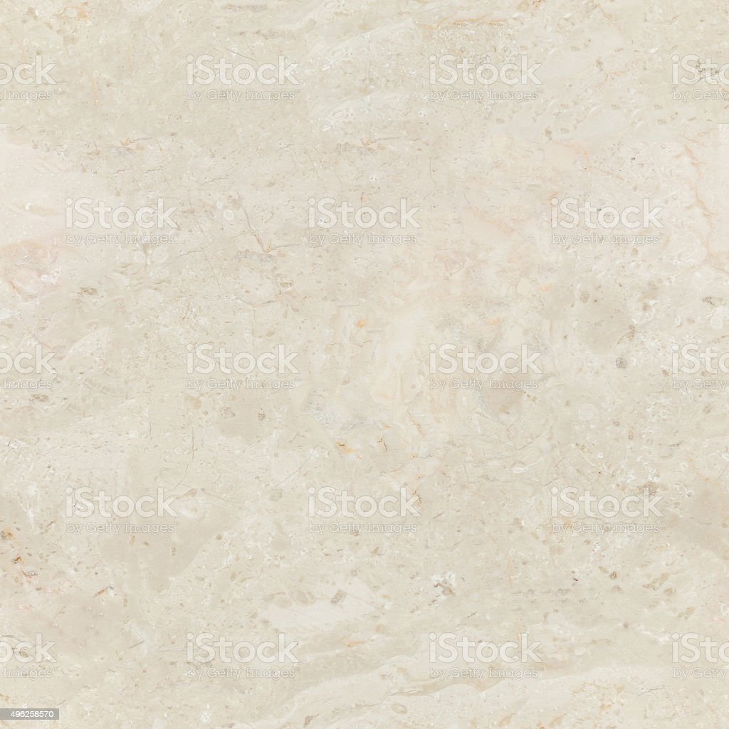 Seamless beige marble background with natural pattern. stock photo