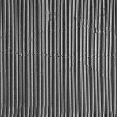 Seamless Black and white Corrugated cardboard texture