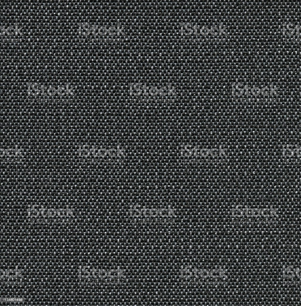 Seamless black fabric background royalty-free stock photo