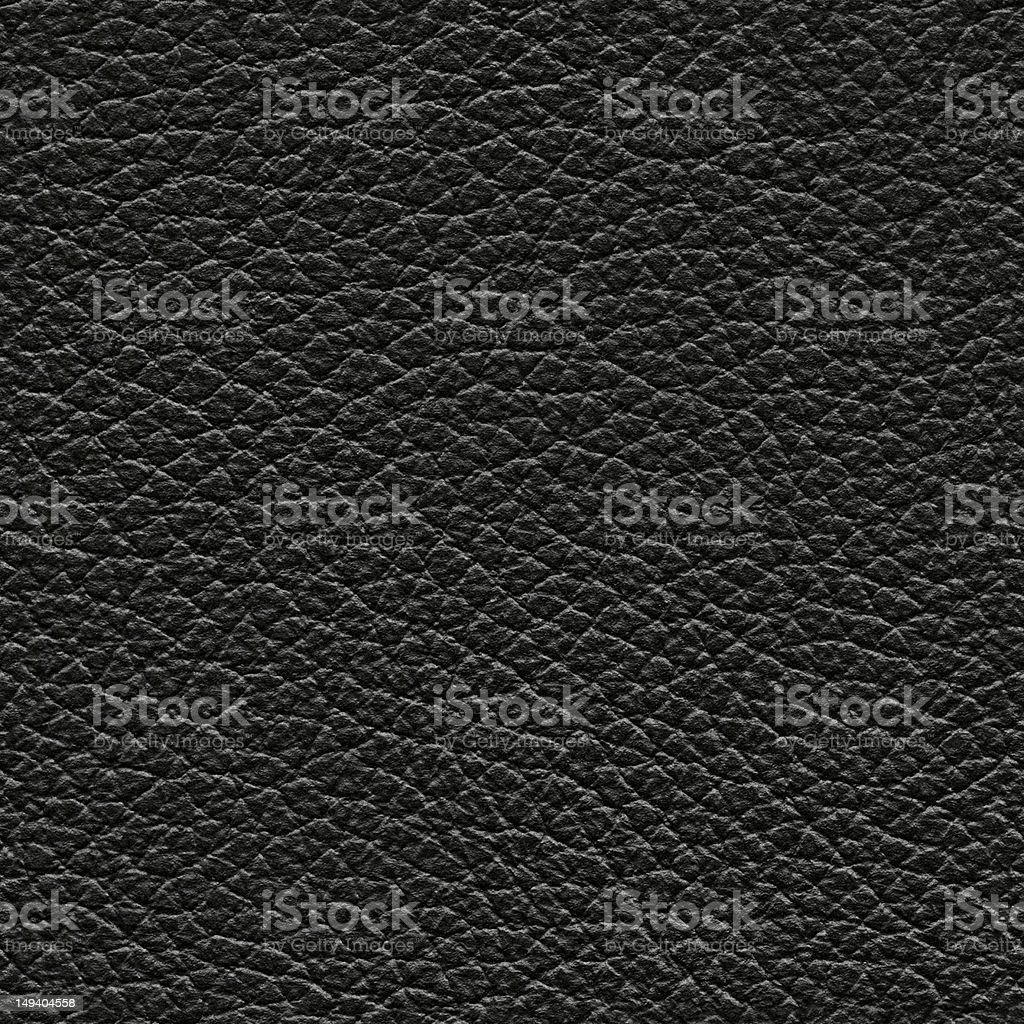 Seamless black leather background stock photo