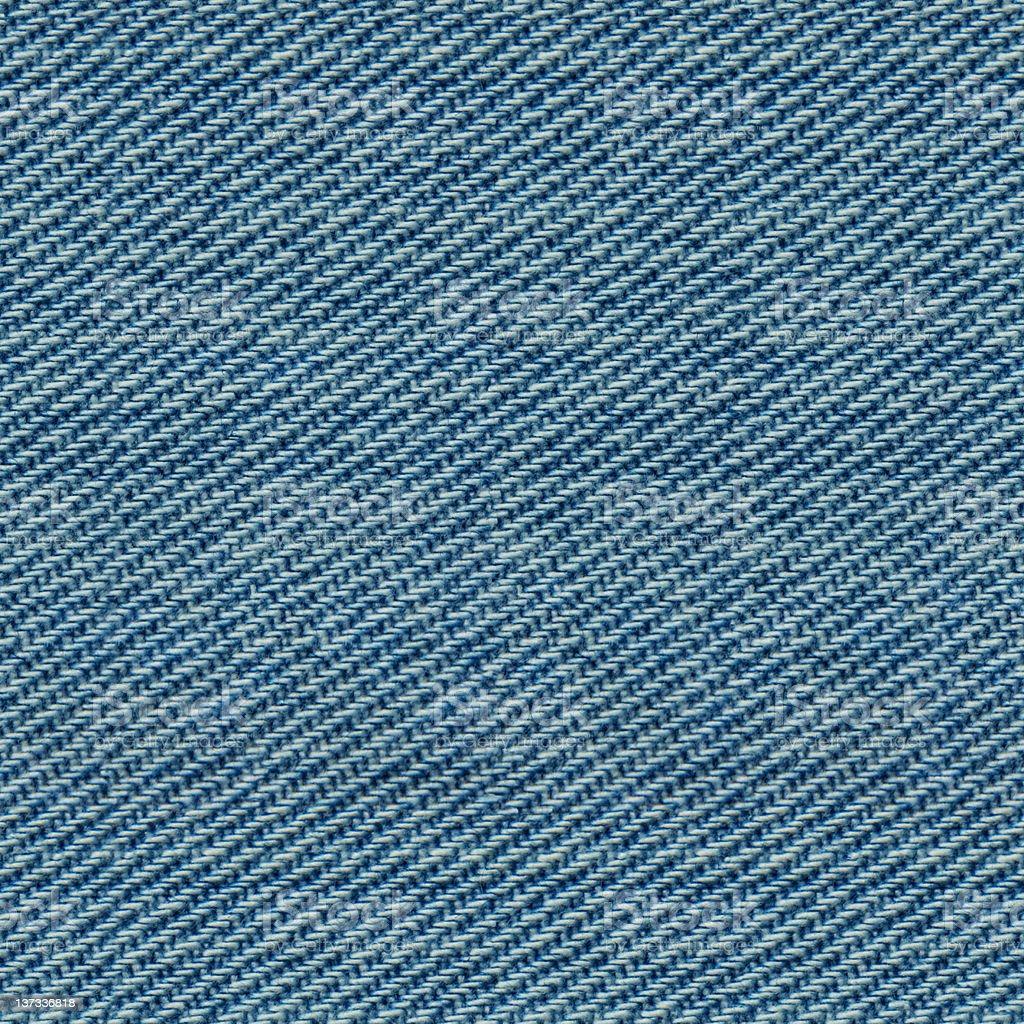 Seamless Blue Denim Texture royalty-free stock photo