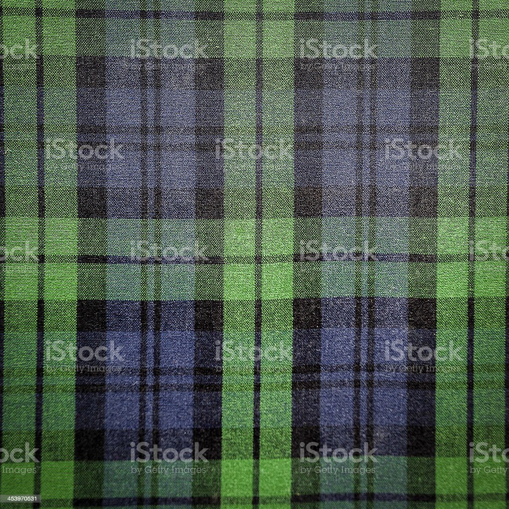 Seamless Bright Green Plaid stock photo