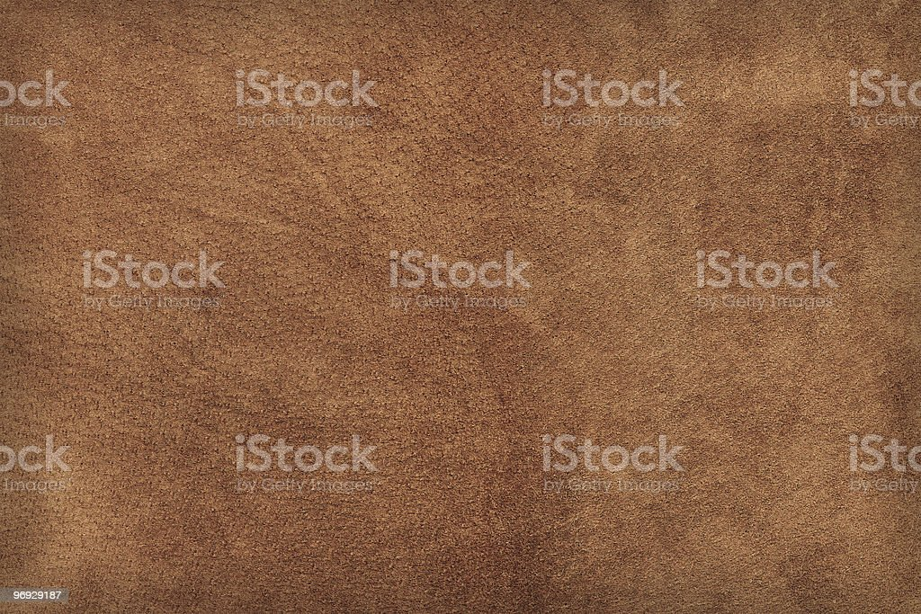 Seamless brown leather background stock photo