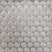 Seamless Bubble wrap paper closeup