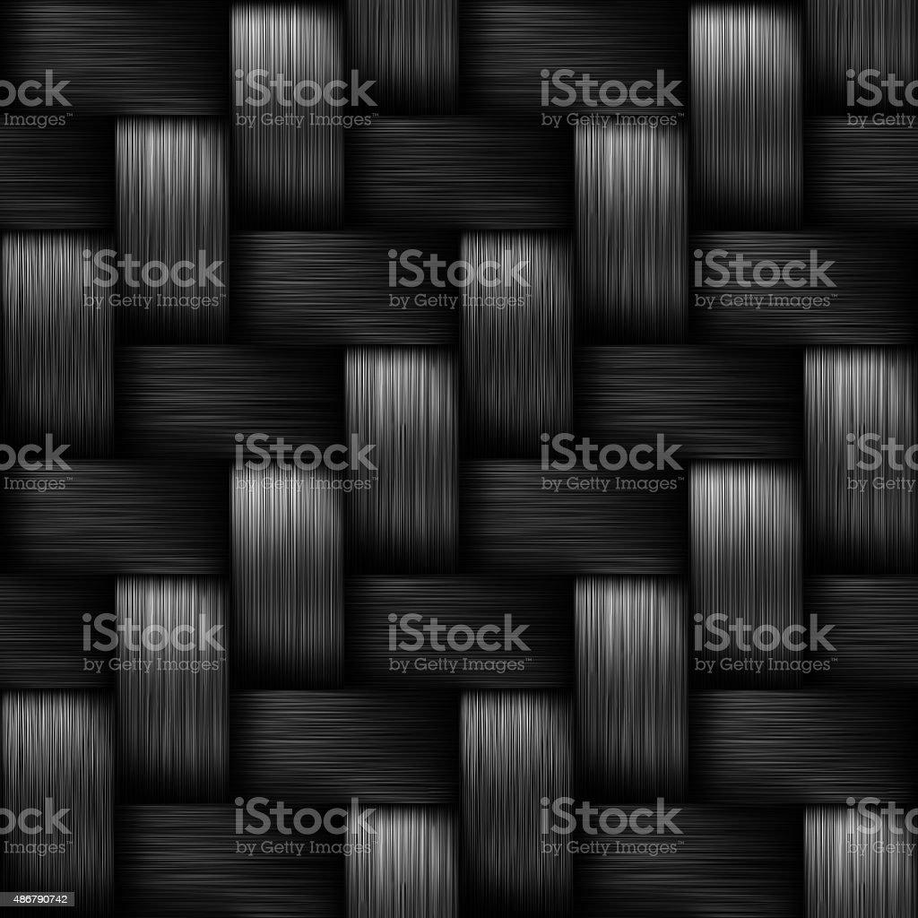 Seamless Carbon Fiber stock photo