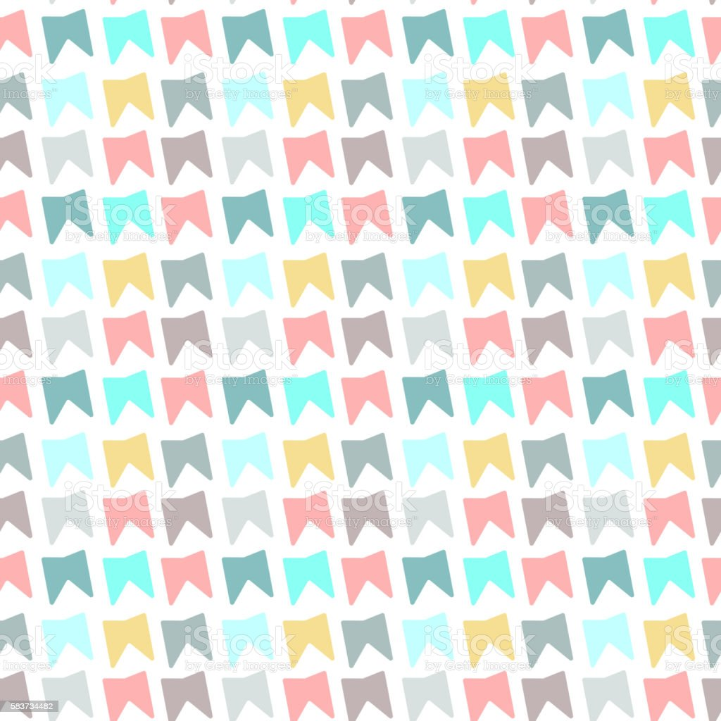 Seamless children style pattern background stock photo