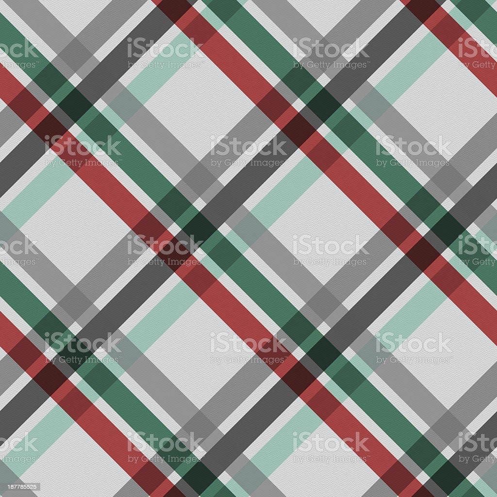 Seamless Christmas stripe pattern on white paper stock photo