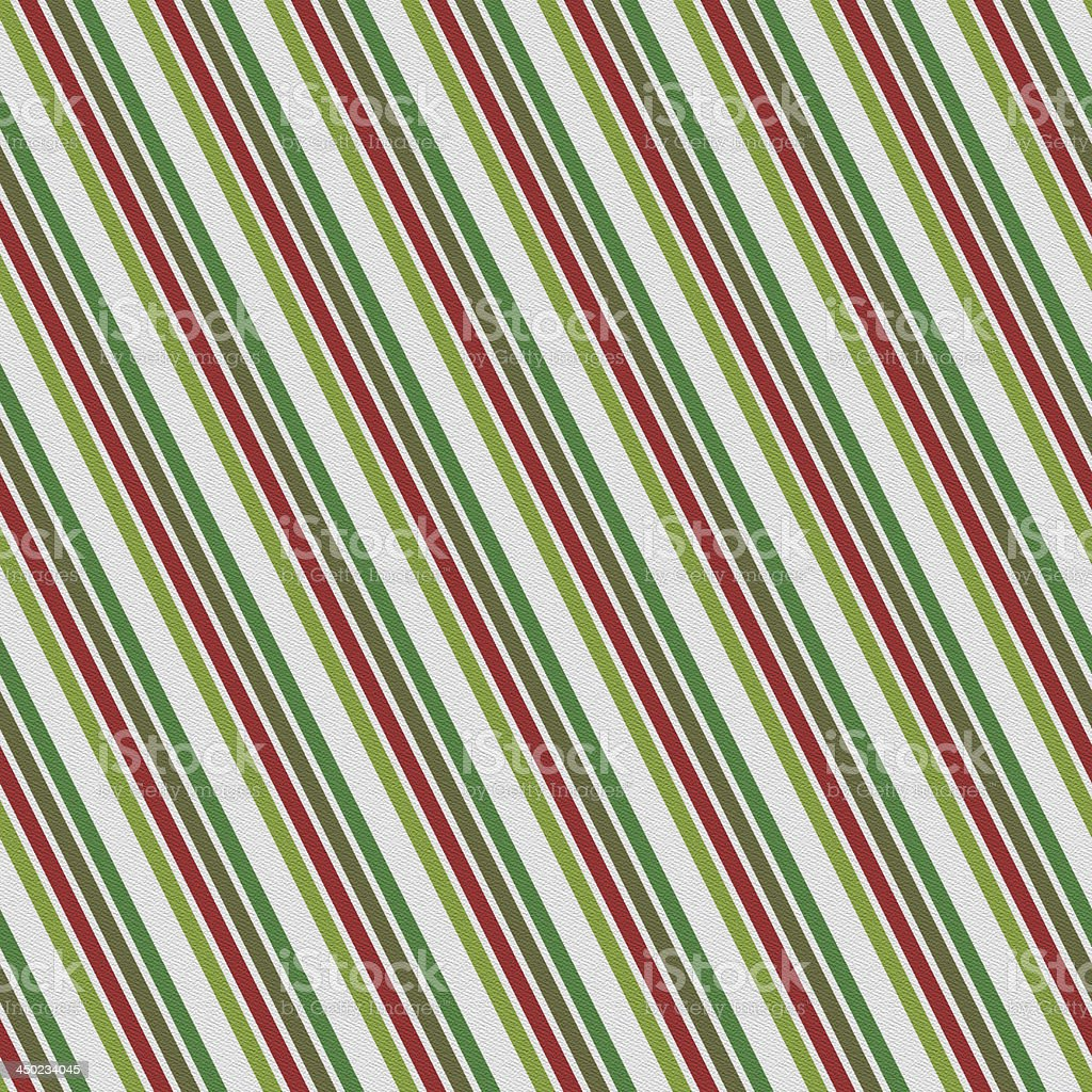Seamless Christmas stripe pattern on white paper royalty-free stock photo