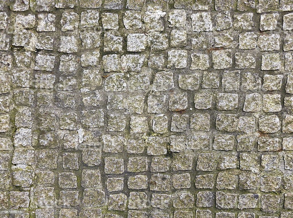 Seamless Cobblestone Pathway royalty-free stock photo