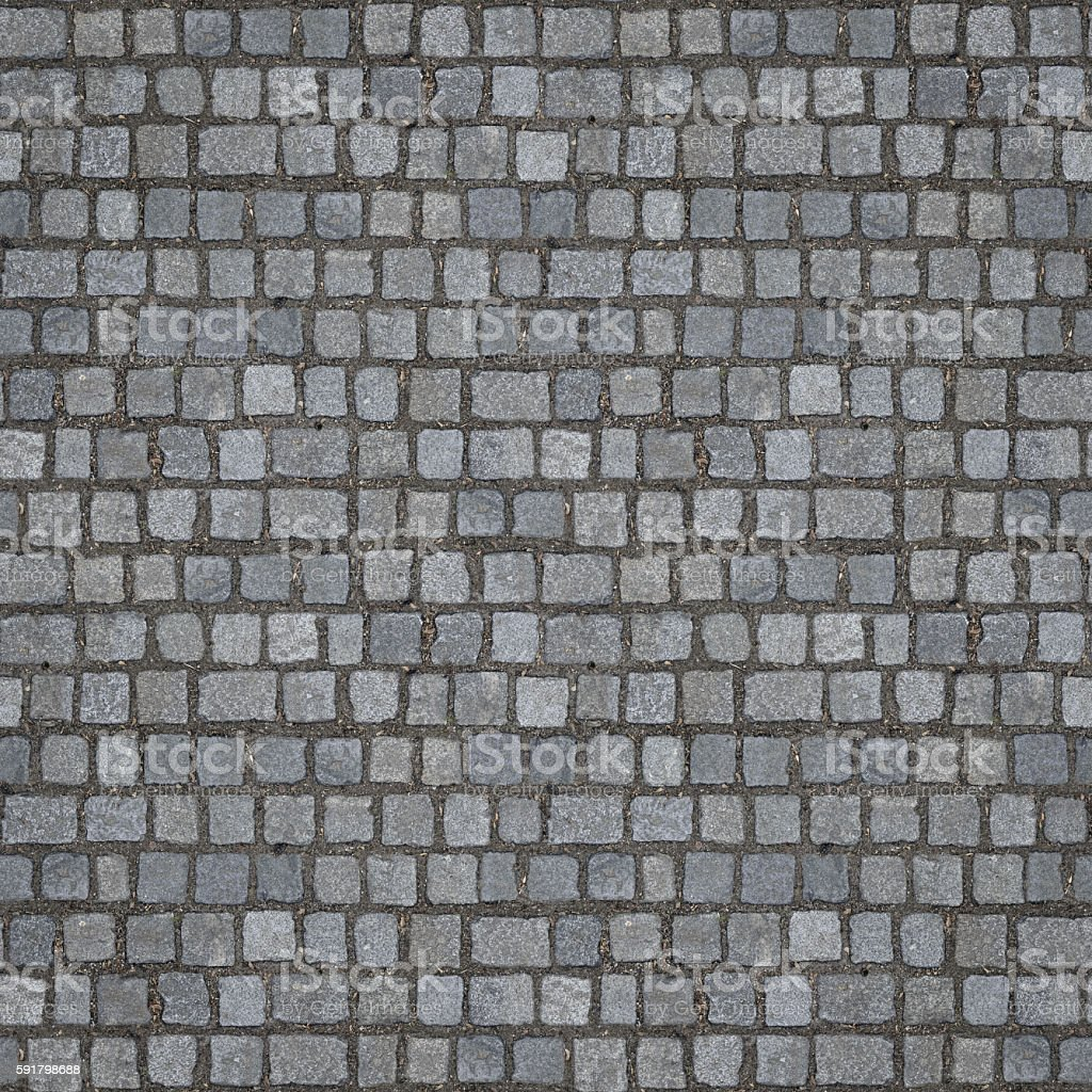 Seamless Cobblestones Texture (1:1 Format) stock photo