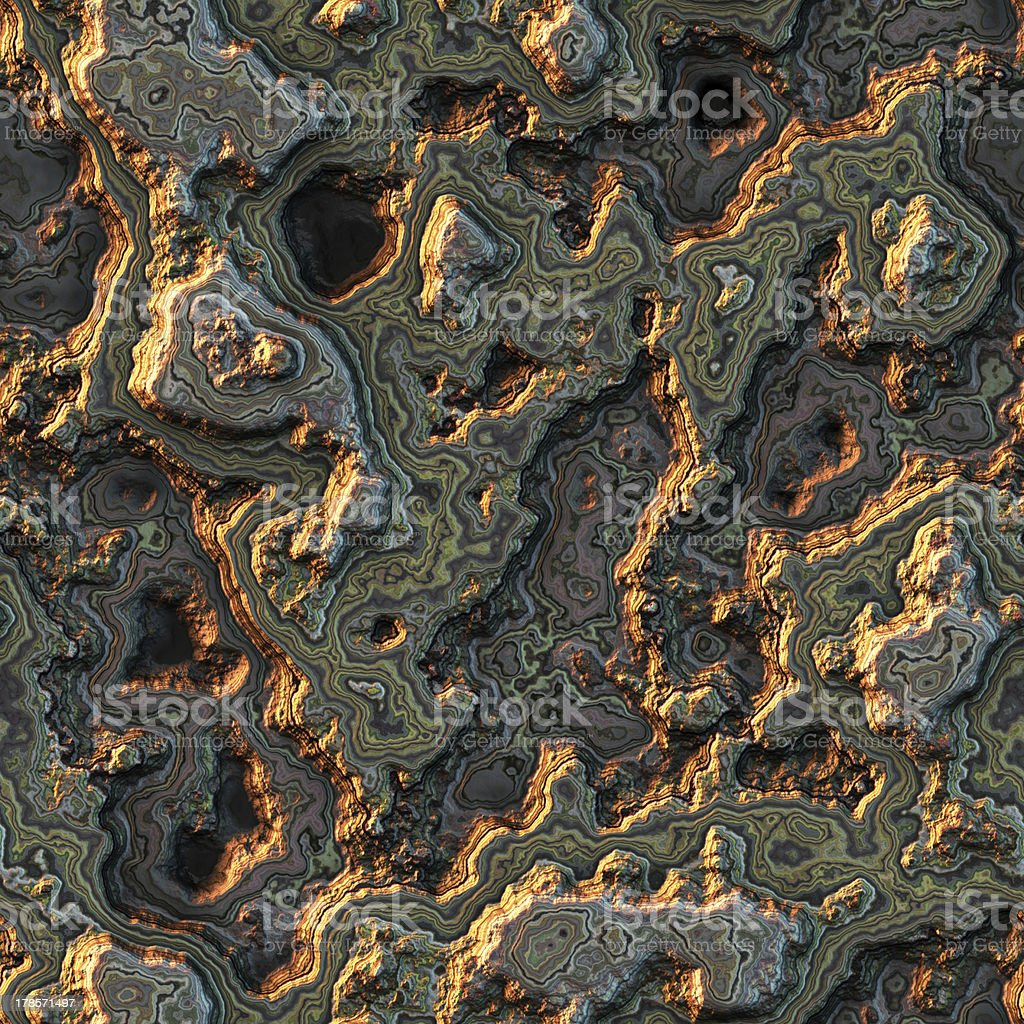 Seamless computer generated background of layered stone royalty-free stock photo