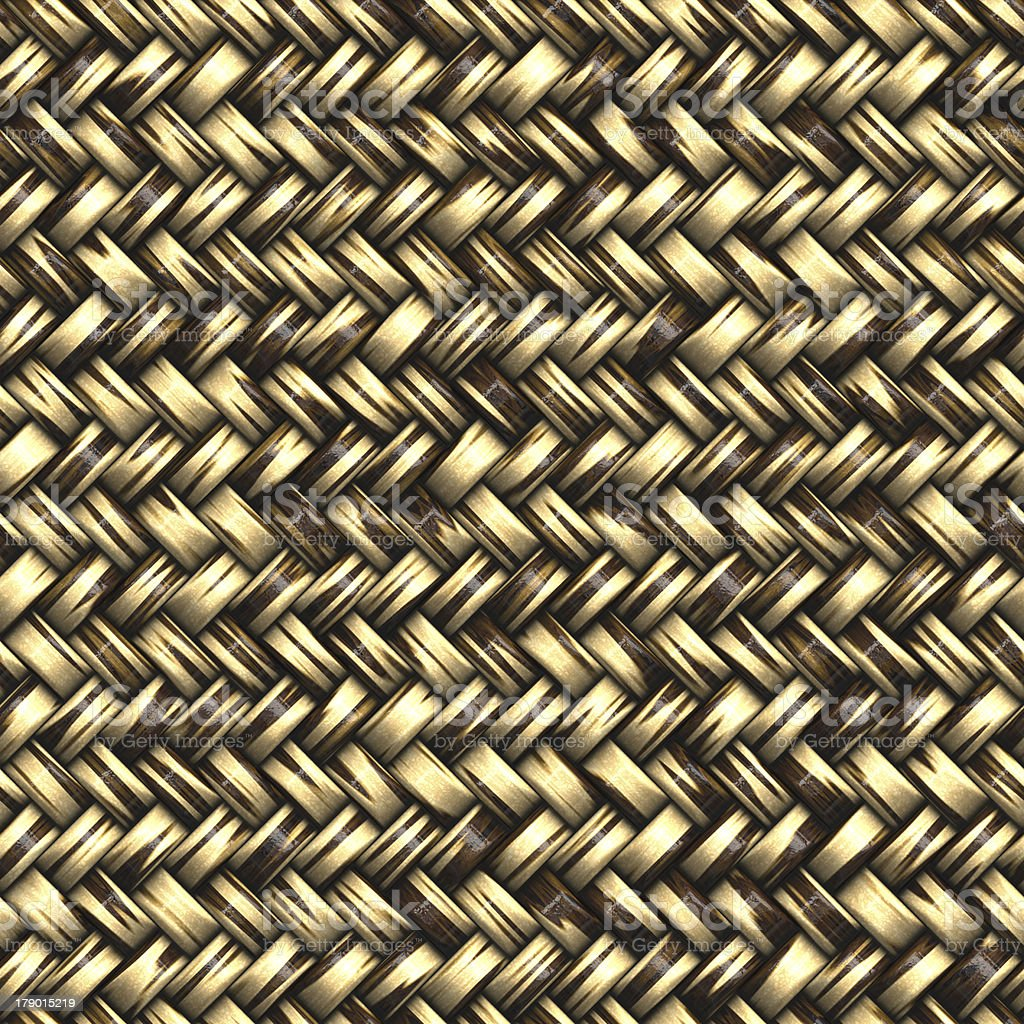 Seamless computer generated high quality woven basket twill yell stock photo