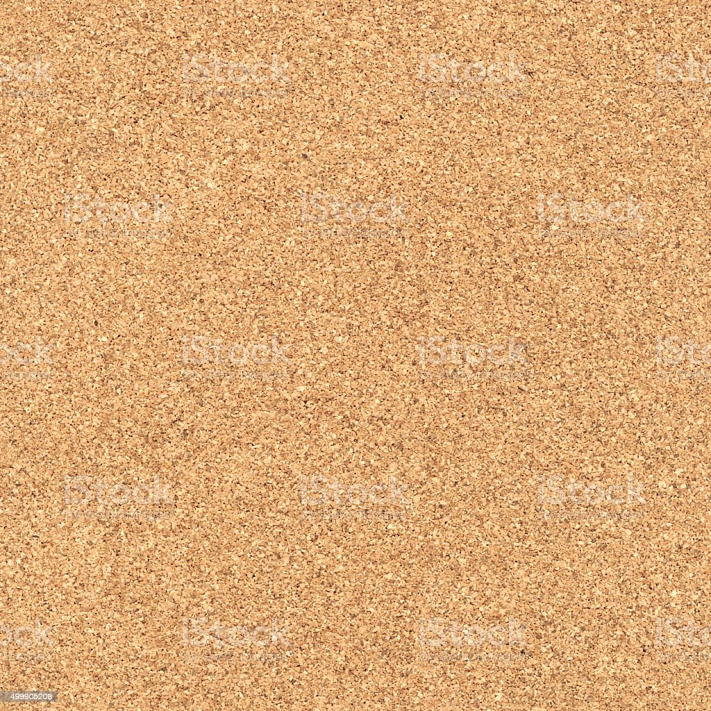 Seamless cork texture background stock photo