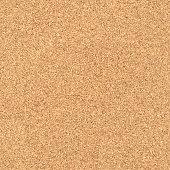 Seamless cork texture background