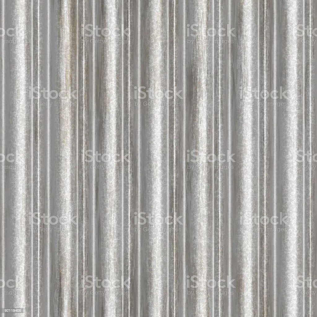 seamless corrugated metal royalty-free stock photo