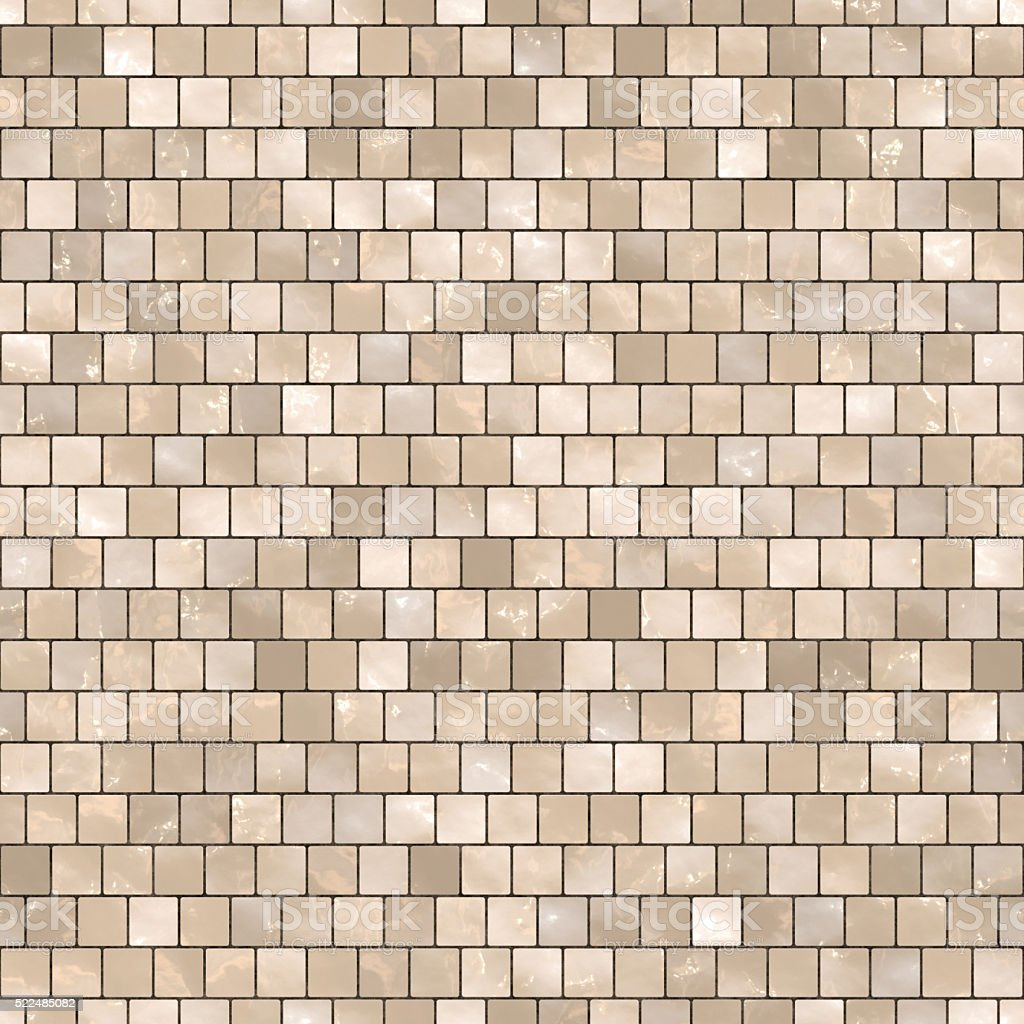 Seamless digitally created staggered glass tile pattern stock photo