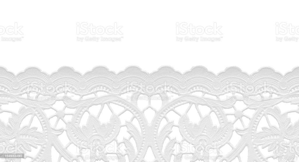 seamless edge-lace doily stock photo