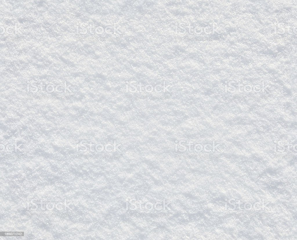 Seamless fresh snow background stock photo