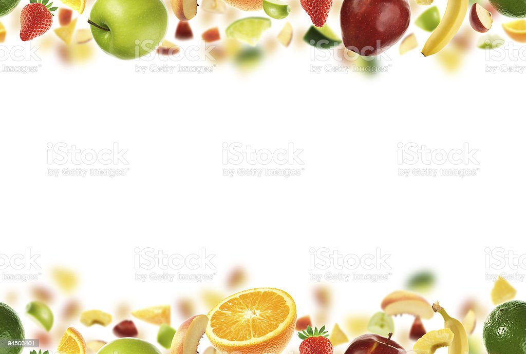 Seamless fruit pattern royalty-free stock photo