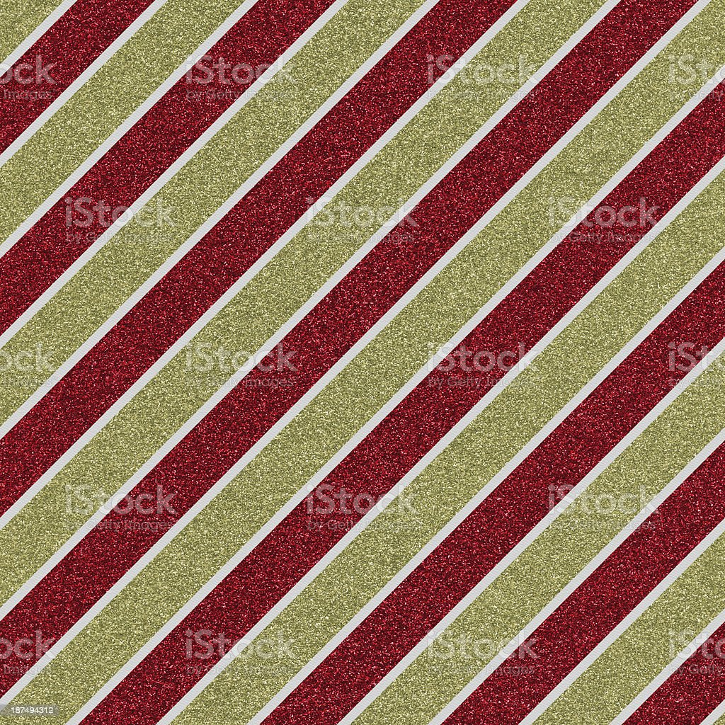 Seamless glitter stripe pattern on white textured paper royalty-free stock photo