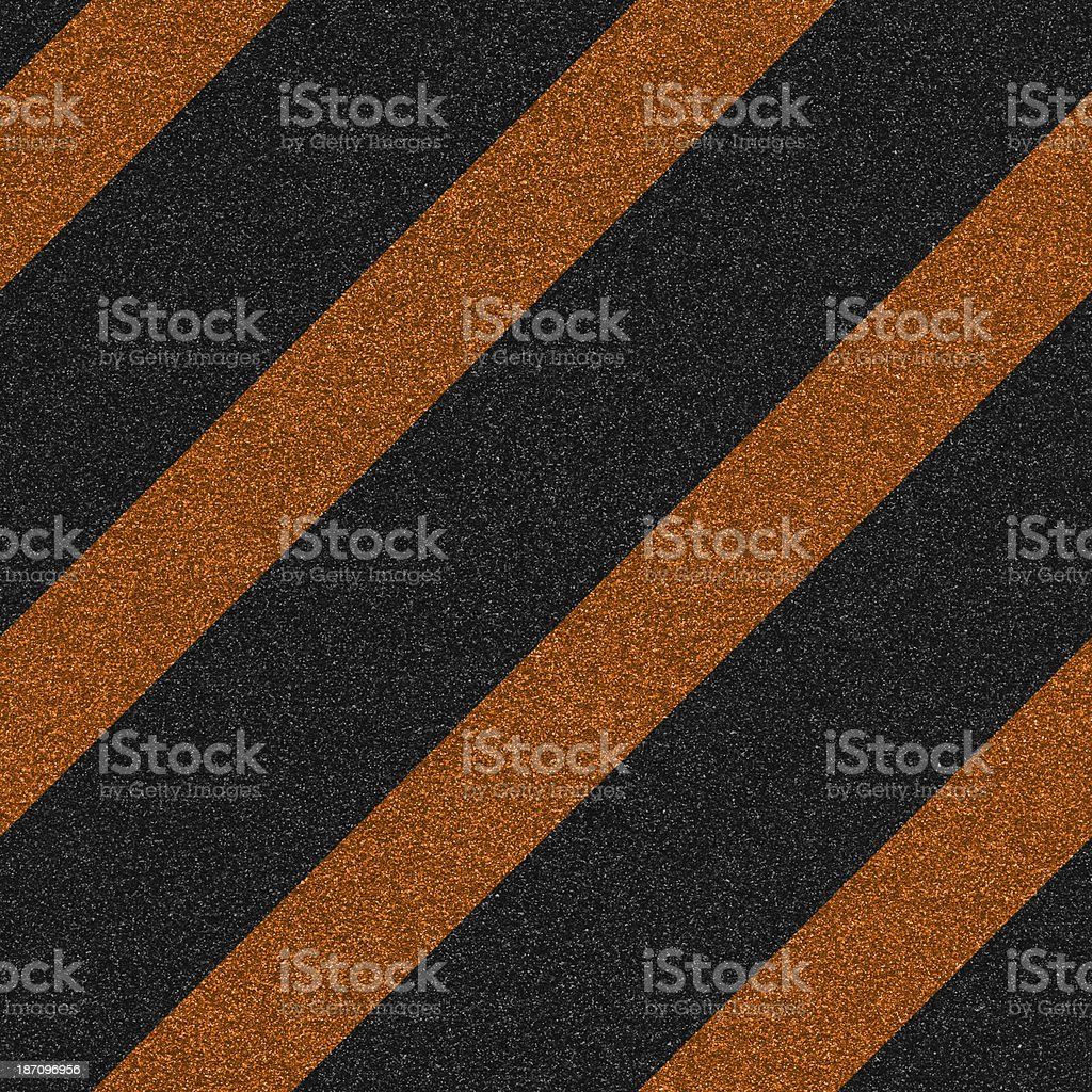 Seamless glitter with orange and black stripes royalty-free stock photo