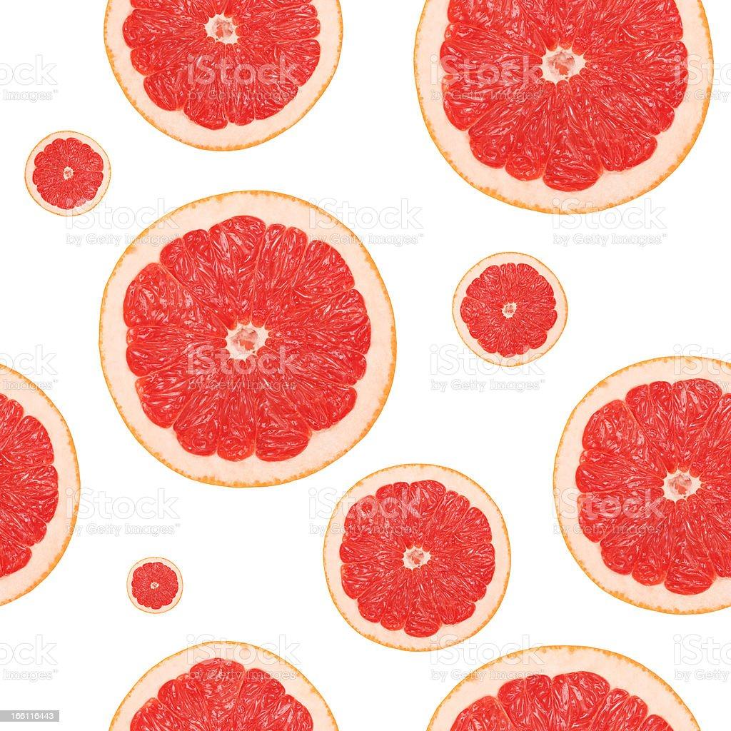 Seamless grapefruit background royalty-free stock photo