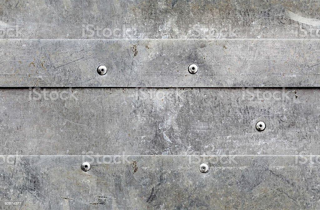 seamless grunge aluminium background royalty-free stock photo