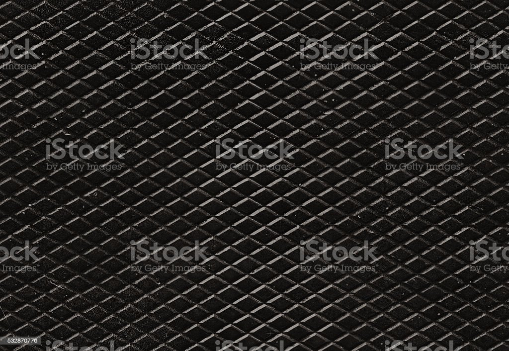 Seamless grunge diamond metal pattern for backgrounds and fills stock photo