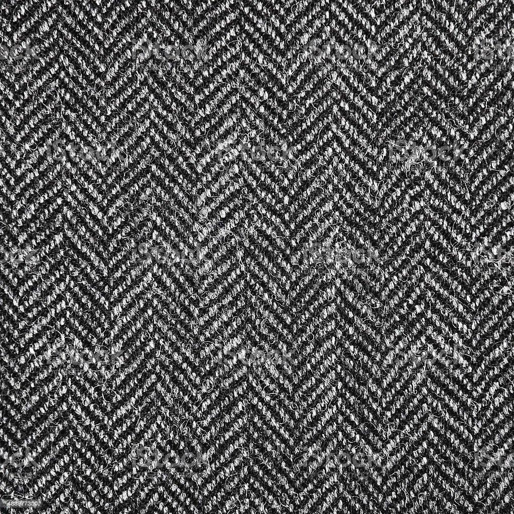 Seamless Herringbone Optic Fabric Texture Background stock photo